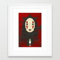 spirited away Framed Art Prints featuring Spirited by Danny Haas