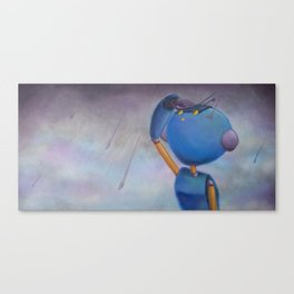 Hopefully Waterproof Canvas Print