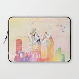 Can not Fight The Moonlight Watercolor Version Laptop Sleeve