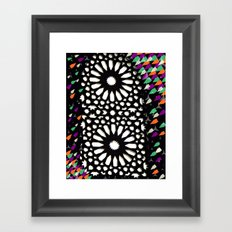 spiritual lights Framed Art Print