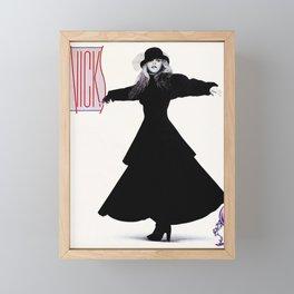 stevie nicks - rock a little cover - Framed Mini Art Print