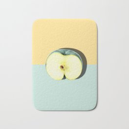 Tropical Fruit. Apple Half Slice Bath Mat
