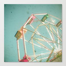 Big Wheel Canvas Print