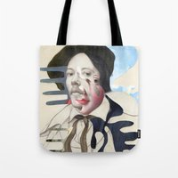 chad wys Tote Bags featuring Composition 480 by Chad Wys