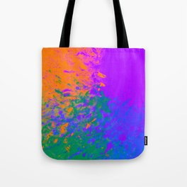 Iridescent Fury Tote Bag