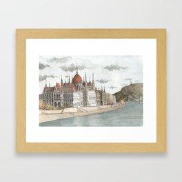 Budapest, Hungary Framed Art Print