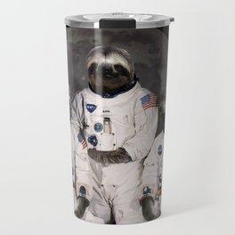 Astronaut Sloths on the way to the moon Travel Mug
