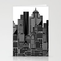 nyc Stationery Cards featuring NYC  by Robert Farkas