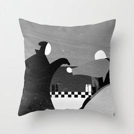 Bergman's The Seventh Seal Throw Pillow