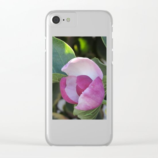 A Fig Prefigured Clear iPhone Case