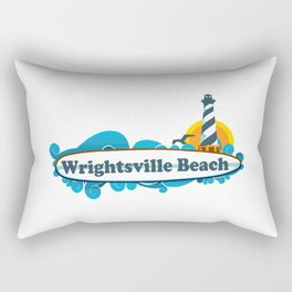 Wrightsville Beach - North Carolina. Rectangular Pillow