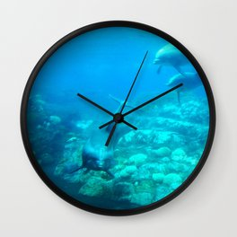 Under SeaWorld Wall Clock