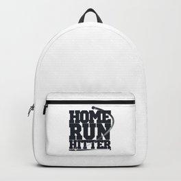 Home Run Hitter Baseball Gift Backpack