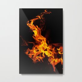 WaterFire Metal Print