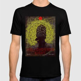 HelloHorror Issue 8 Cover - Victorian woman stares into the abyss T-shirt