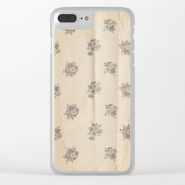 Dorchester Pattern No. 2 Clear iPhone Case