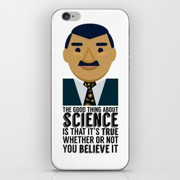 Neil deGrasse Tyson: Science IS Real iPhone Skin
