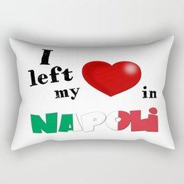 I left my heart in Napoli Rectangular Pillow