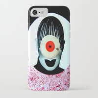 cyclops iPhone & iPod Cases featuring CYCLOPS by Moni Wilk
