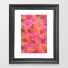 Faded glory Framed Art Print