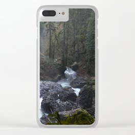 North Falls - Silver Falls State Park Clear iPhone Case