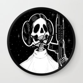 Leia (Stack's Skull Sunday) Wall Clock