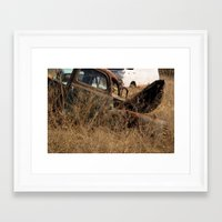 truck Framed Art Prints featuring Truck by Woodler Photo
