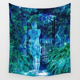 Blue Spirit Wall Tapestry