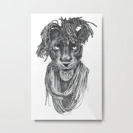 Pantherasta Metal Print