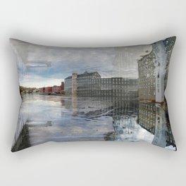 Newmarket Mills Abstraction Rectangular Pillow