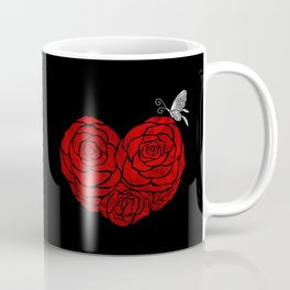 A Butterfly to be, a Rose to blossom... Coffee Mug