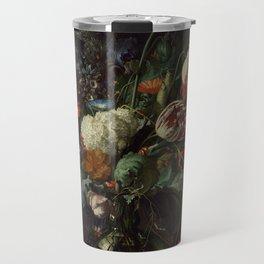 "Jan Davidsz. de Heem ""Vase of Flowers"" Travel Mug"