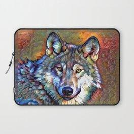 Aura of the Wolf Laptop Sleeve
