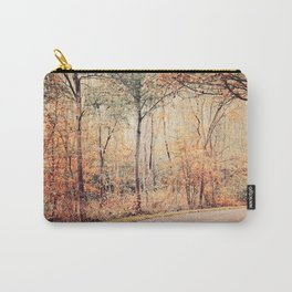 Autumn golden scenery Carry-All Pouch