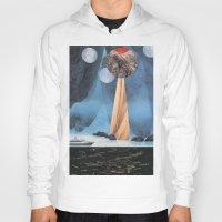 voyage Hoodies featuring VOYAGE by cedar q waxwing