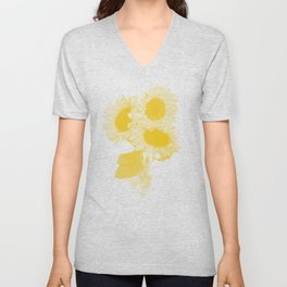 Flower Tournesol Unisex V-Neck