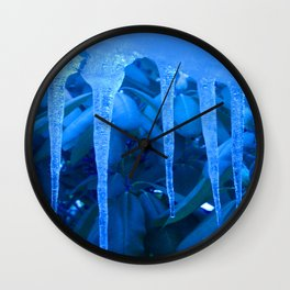 Blue Melody Wall Clock