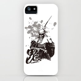 KENSHIN UESUGI iPhone Case