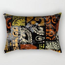 Ethno Pattern Collage Rectangular Pillow