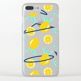 Lemons party #society6 #decor #buyart Clear iPhone Case