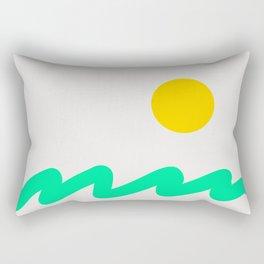 Abstract Landscape 07 Rectangular Pillow