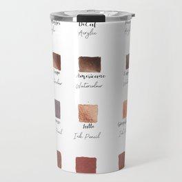 Coffee Shop Palette Travel Mug
