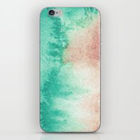 mineral iPhone & iPod Skins featuring mineral 02 by LEEMO