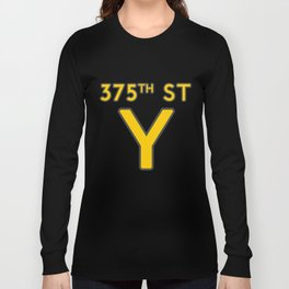 375th Street Y Long Sleeve T-shirt