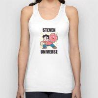 steven universe Tank Tops featuring Steven by ZoeStanleyArts