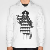 fashion illustration Hoodies featuring Fashion Illustration by Sibling & Co.