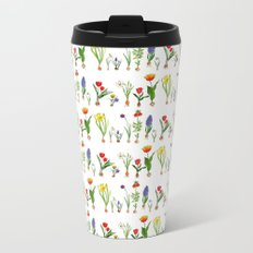 Spring Flowering Bulbs Metal Travel Mug