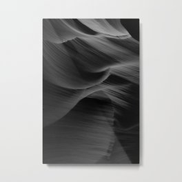 Rocky Waves Metal Print