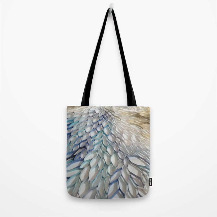 Movement in Blue Tote Bag