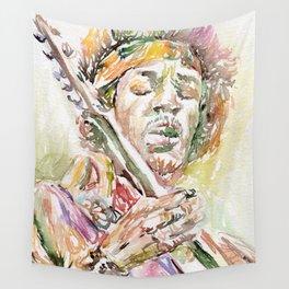 Jimi Hendrix Wall Tapestry